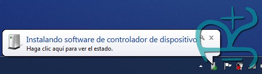 Windows intentando instalar drivers