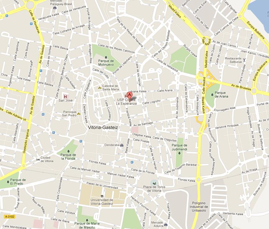 ARTIUM en el mapa