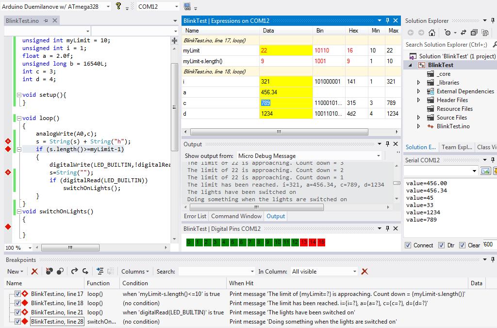 Plugin Visual Micro para Visual Studio