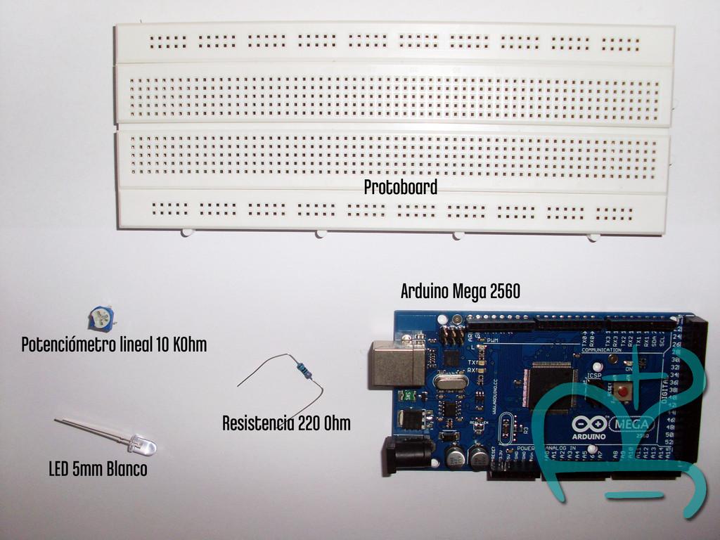 Componentes tutorial PWM