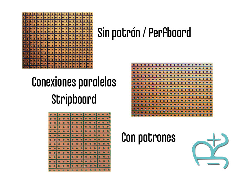 Tipos de placas perforadas PCB